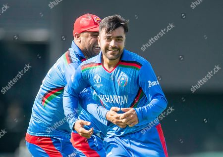 Editorial picture of ICC Cricket World Cup 2019 - Pakistan v Afghanistan. Leeds, UK - 29 Jun 2019