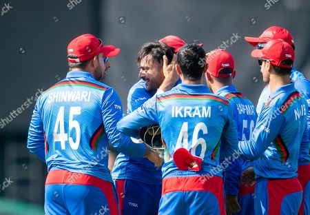 Editorial photo of ICC Cricket World Cup 2019 - Pakistan v Afghanistan. Leeds, UK - 29 Jun 2019