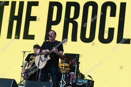The Proclaimers performing on the Pyramid stage - Craig Reid