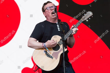 The Proclaimers performing on the Pyramid stage - Charlie Reid