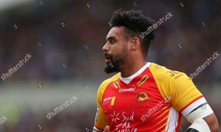 Stock Image of Catalans Dragons' Jodie Broughton