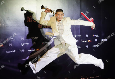 Eason Chan. Taiwanese singer Leo Wang cheers for the Best Male Mandarin Vocalist at the 30th Golden Melody Awards in Taipei, Taiwan, . The Golden Melody Awards are one of the Chinese-language pop music world's biggest annual events