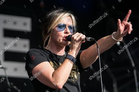 Editorial image of Sleeper in concert at Piece Hall, Halifax, UK - 28 Jun 2019