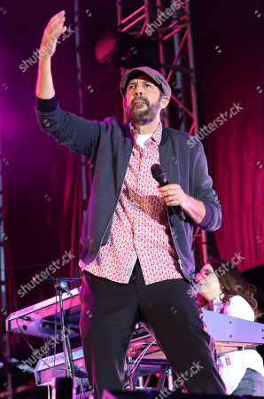 Juan Luis Guerra performs on stage during Sun&Stars Festival in Las Palmas de Gran Canaria, Spain, 29 June 2019.