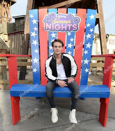 Editorial image of Knott's Summer Nights at Knott's Berry Farm, California, USA - 29 Jun 2019