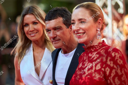 Antonio Banderas, Nicole Kimpel, Diana Iljine
