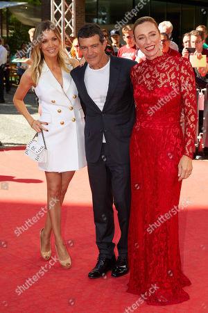 Stock Image of Antonio Banderas, Nicole Kimpel, Diana Iljine
