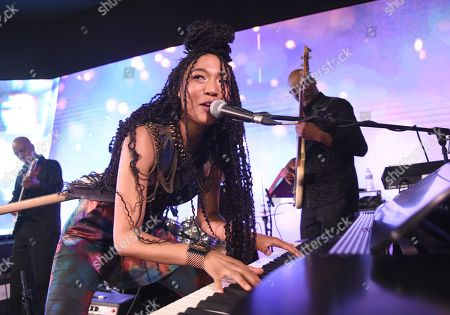 Stock Picture of Judith Hill performing