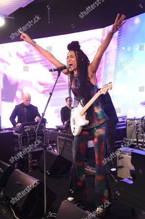 Stock Image of Judith Hill performing