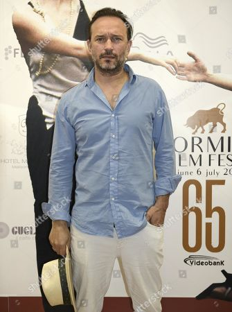 Stock Picture of Vincent Perez poses during a photo call for the movie 'Ladies in Black' during the 65th annual Taormina Film Festival, Taormina Sicily Island, Italy, 30 June 2019. The festival runs from 30 to 06 July.
