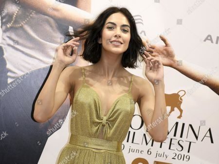Stock Picture of Rocio Munoz Morales poses during a photo call as part of the 65th annual Taormina Film Festival, Taormina Sicily Island, Italy, 30 June 2019. The festival runs from 30 to 06 July.