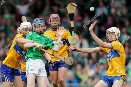 Editorial picture of Electric Ireland Munster Minor Hurling Championship Final, LIT Gaelic Grounds, Limerick  - 30 Jun 2019