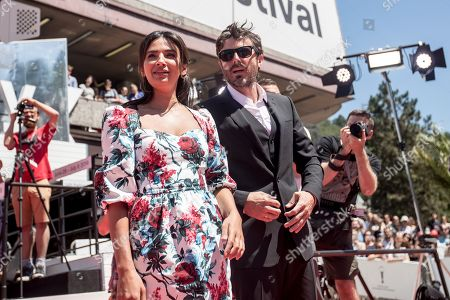 Stock Image of Casey Affleck and his girlfriend Floriana Lima arrive for the presentation of the film 'Light of My Life' at the 54th Karlovy Vary International Film Festival, in Karlovy Vary, Czech Republic, 30 June 2019. The festival runs from 28 June to 06 July.
