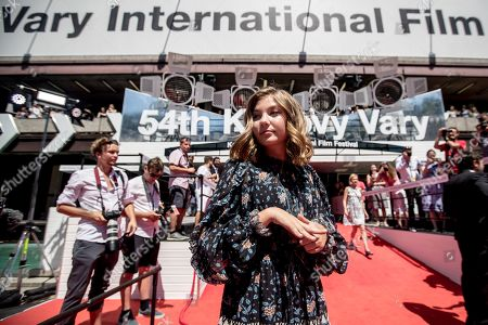 Anna Pniowsky arrives for the presentation of the film 'Light of My Life' at the 54th Karlovy Vary International Film Festival, in Karlovy Vary, Czech Republic, 30 June 2019. The festival runs from 28 June to 06 July.