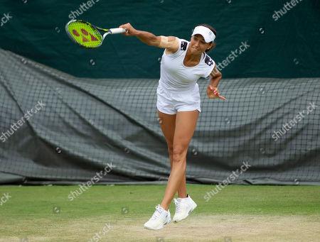 Vitalia Diatchenko (RUS) In action during the Sunday Practice