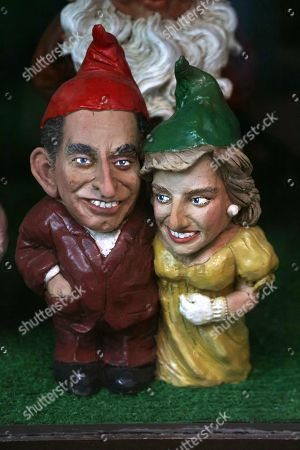 HRH Prince Charles and HRH Diana, Princess of Wales Gnomes