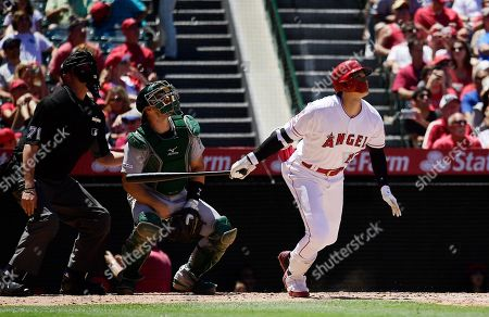 Editorial picture of Athletics Angels Baseball, Anaheim, USA - 30 Jun 2019