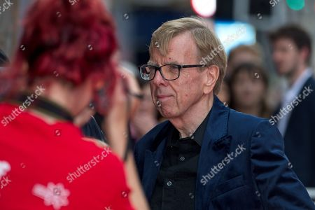 Stock Photo of Timothy Spall signing autographs for fans