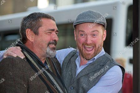 Stock Image of Angus Macfadyen and Richard Gray