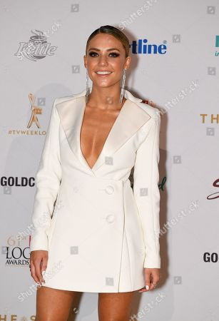 Stock Picture of Sam Frost arrives at the 2019 Logie Awards at The Star Casino on the Gold Coast, Australia, 30 June 2019. ( )