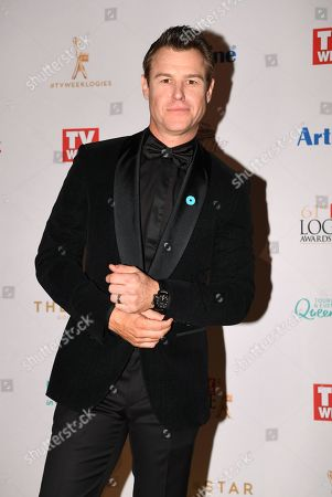 Stock Picture of Rodger Corser arrives at the 2019 Logie Awards at The Star Casino on the Gold Coast, Australia, 30 June 2019. ( )
