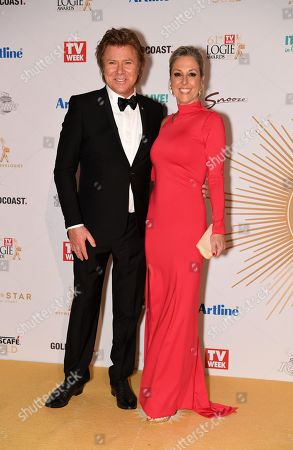 Richard Wilkins and Virginia Burmeister arrive at the 2019 Logie Awards at The Star Casino on the Gold Coast, Australia, 30 June 2019. ( )