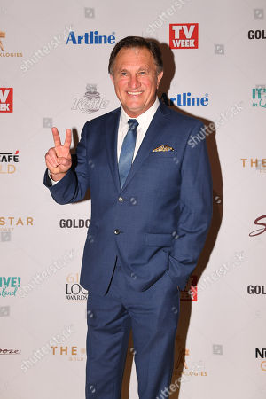 Stock Picture of Frankie J. Holden arrives at the 2019 Logie Awards at The Star Casino on the Gold Coast, Australia, 30 June 2019. ( )