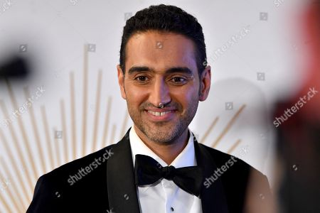 Waleed Aly is seen talking to the media at the 2019 Logie Awards at The Star Casino on the Gold Coast, Australia, 30 June 2019. ( )