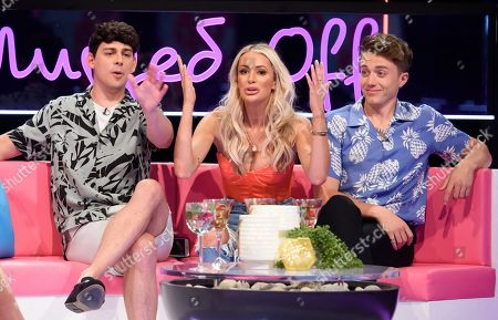 Stock Photo of Matt Richardson, Olivia Attwood, Roman Kemp