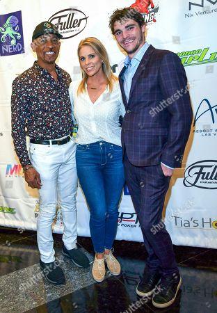 Montel Williams, Cheryl Hines and RJ Mitte