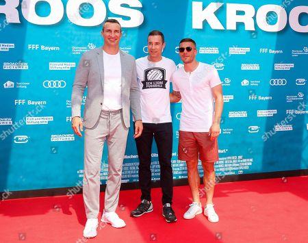Lukas Podolski, Wladimir Klitschko, Kai Pflaume