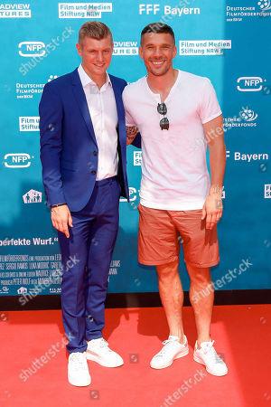 Toni Kroos, Lukas Podolski