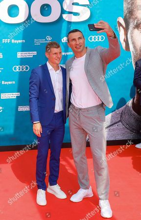 Stock Picture of Toni Kroos, Wladimir Klitschko