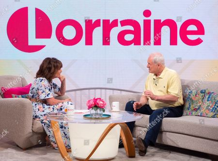 Lorraine Kelly and Paul Gambaccini