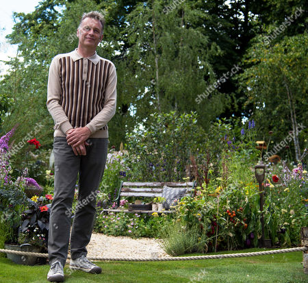 Chris Packham CBE visits the BBC Springwatch Garden at Hampton Court Palace Garden Festival 2019