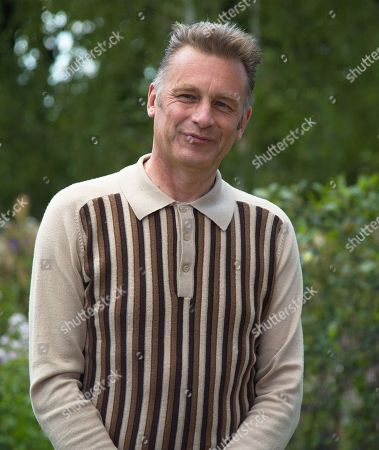 Chris Packham (CBE) visits the BBC Springwatch Garden at Hampton Court