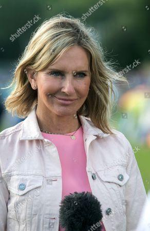 Stock Picture of Sky Sport presenter Jacquie Beltrao