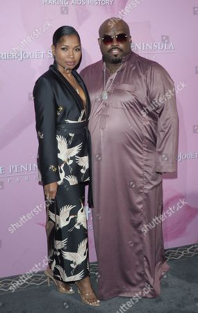 Shani James and Cee Lo Green