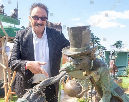 Stock Photo of Paul Elliott, the last remaining Chuckle brother at the Hampton Court Flower Show