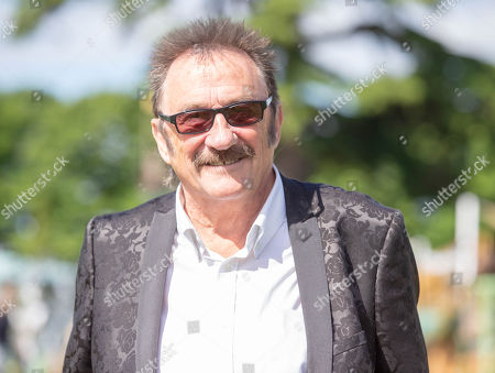 Paul Elliott, the last remaining Chuckle brother at the Hampton Court Flower Show