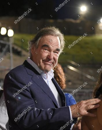 Oliver Stone poses during the 65th annual Taormina Film Festival, Taormina Sicily Island, Italy, 01 July 2019. The festival runs from 30 to 06 July.