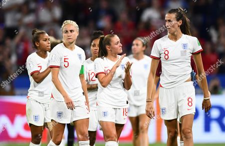 Dejection for Steph Houghton and Jill Scott