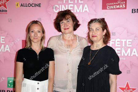 Stock Image of Audrey Lamy, Anne le Ny, Emmanuelle Devos