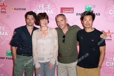 Raphael Personnaz, Anne le Ny, Medi Sadoun, Frederic Chau