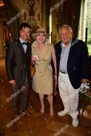 Theo Phan, Grace de Capitani, Massimo Gargia