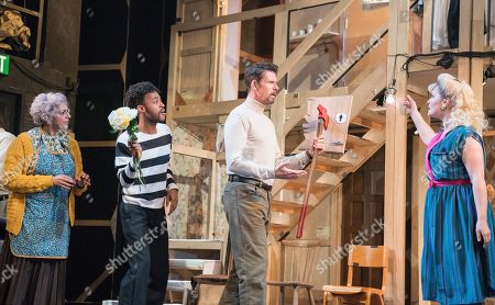Editorial photo of 'Noises Off' Play performed at the Lyric Theatre, Hammersmith, UK - 01 Jul 2019