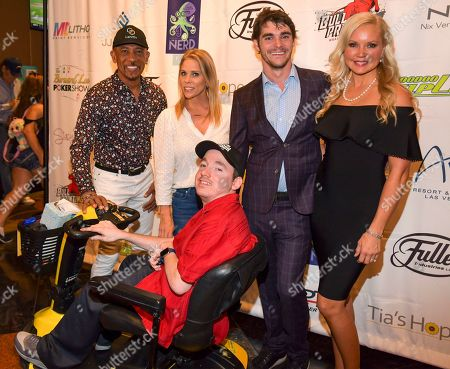Stock Picture of Montel Williams, Cheryl Hines, RJ Mitte, Stacy Fusion, Jacob Zal