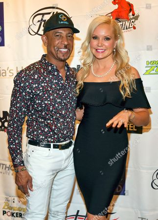 Montel Williams and Stacy Fusion