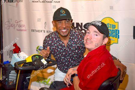 Editorial photo of One Step Closer Foundation Celebrity Charity Poker Tournament, Aria, Las Vegas, USA - 30 Jun 2019
