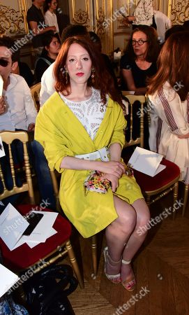 Editorial image of Christophe Josse show, Front Row,Fall Winter 2019, Haute Couture Fashion Week, Paris, France - 30 Jun 2019